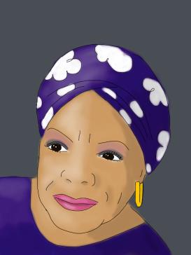 Maya Angelou, by Kim Dolan