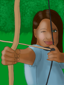 Archer, inspired by Pan Am Games