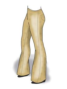 beige pants kim dolan